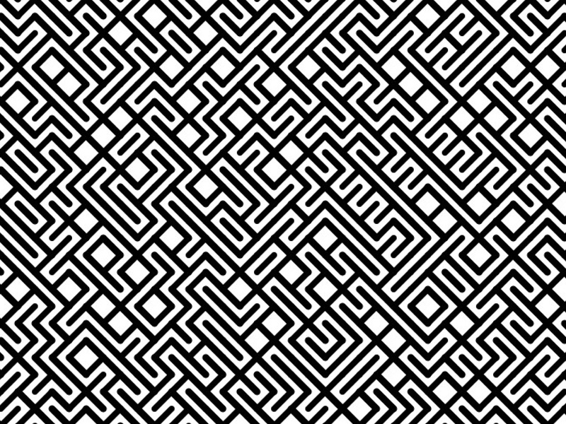 Tribal Grid grid pattern tribal geometric coding code processing art generative