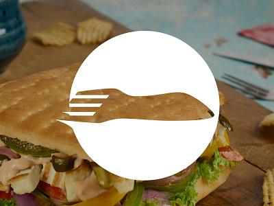 Foodport Logo delivery food startup india gurgaon logo branding brand foodport