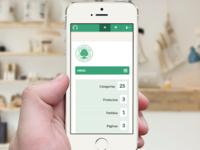 Responsive Admin Dashboard for OmbuShop