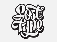 Lost Type -lettering