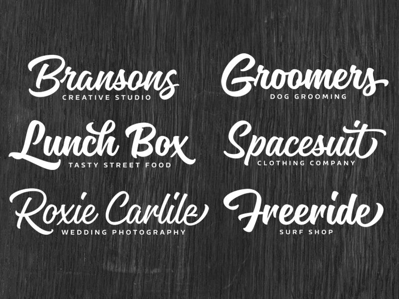 Magneton typeface branding logo lettering font typeface type script brush typography