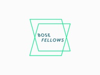 Unused Bose Fellows logo concept