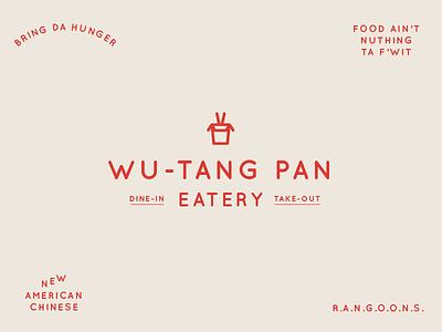 BSDS Challenge No. 5: Chinese Food + Quicksand logo branding quicksand eatery food wu-tang clan wu-tang rangoons take-out chinese food bsds typography
