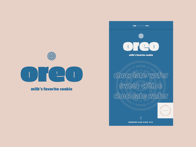 BSDS Challenge No. 7: Baked Goods + Passion One identity cookies branding thunderdome bsds packaging milk cookie oreo typography challenge type