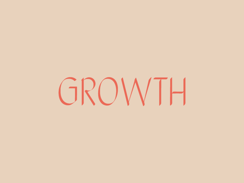 Growth autumn fall flow fluid october experiment play font typography type grow growth