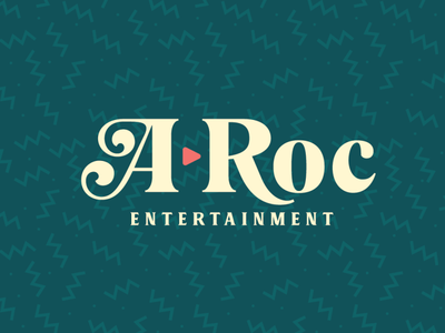 A-Roc Entertainment Logo entertainment logo dj