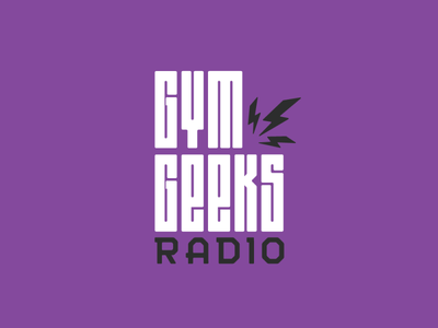 Gym Geeks Radio Logo health podcast geeks gym fitness