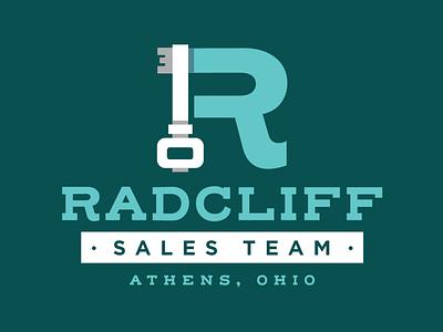Radcliff Sales Team Real Estate Logo ohio key home realtor real estate