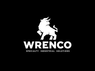 Wrenco Bull Logo bull industrial