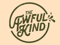 The Awful Kind Logo - Alternate Color