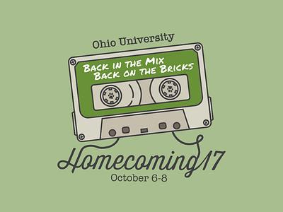 OHIO Homecoming 2017 Logo university athens ohio ou