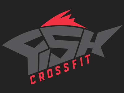 FISH CrossFit Logo fish logo crossfit
