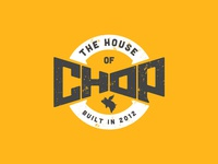 House of Chop Logo - Variation