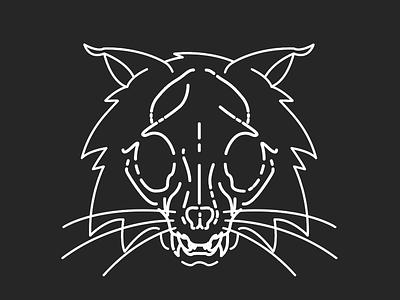 Bobcat Skull ohio skull bobcat