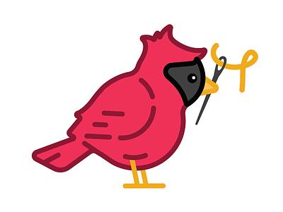 Sewing Cardinal bedhead sewing cardinal