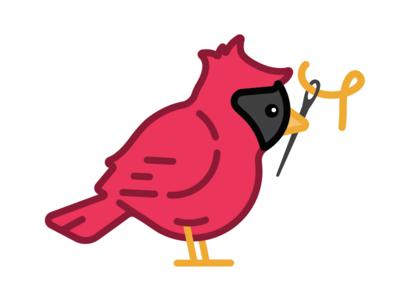 Sewing Cardinal