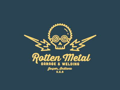 Rotten Metal Garage