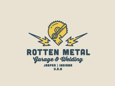 Rotten Metal Garage Final welding skull garage metal rotten