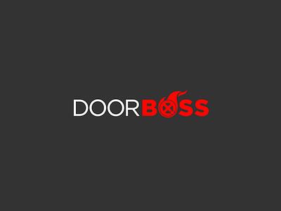 Door Boss wheel boss logo fire flame door firefighter