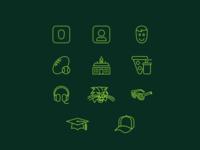 Ohio University App Icon Set