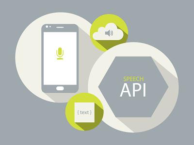 Voice Search Illustration shadows voice search api development agency mobile app development mobile app illustration