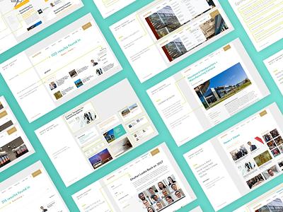 Website Strategy Documentation indesign website strategy development agency ux design presentation design process
