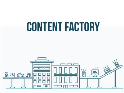 Content Factory content factory illustration