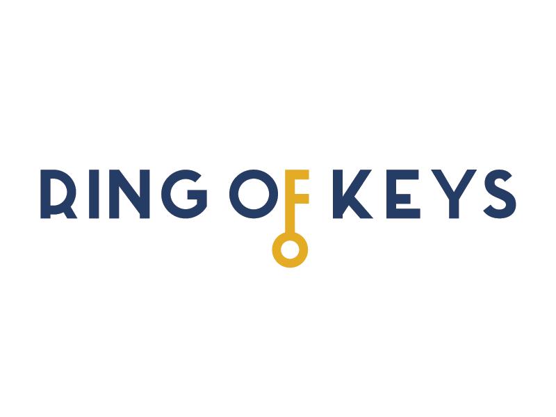 RING OF KEYS logo theatre queer ring of keys keys key logo