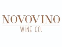 logo design for Novovino Wine Company