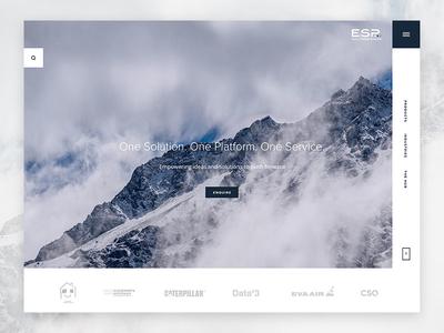 Simplifying internal management hamburger search clients solution service platform clean tech product ux ui image