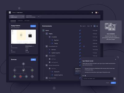 Your project in dark mode modal enterprise app dark theme dark app dark mode dark ui ux
