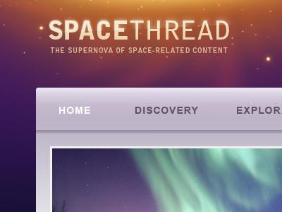 Space Thread space thread supernova purple orange yellow stars nova home discovery