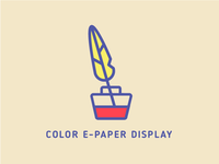 E-paper display icon
