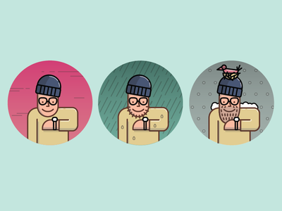 Hipster Smartwatch smartwatch hipster vector illustration