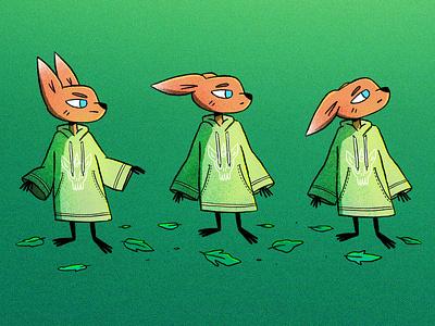 Fox Character concept fox procreate cute characterdesign character cartoon character illustration illustrator cartoon illustration cartoon 2d