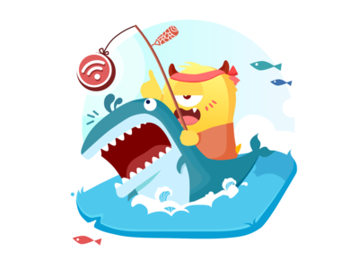Search for WiFi on sharks