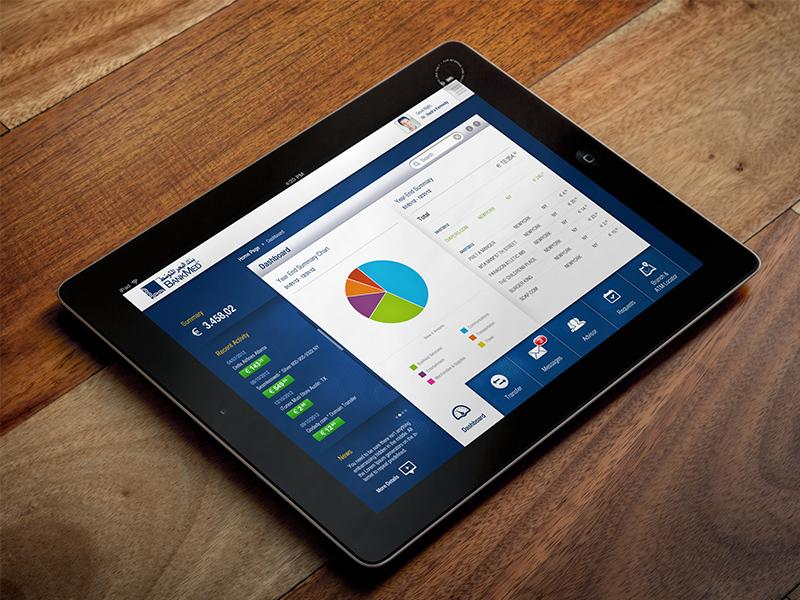 Banking iPad App ipad app apple ios bank native ui ux