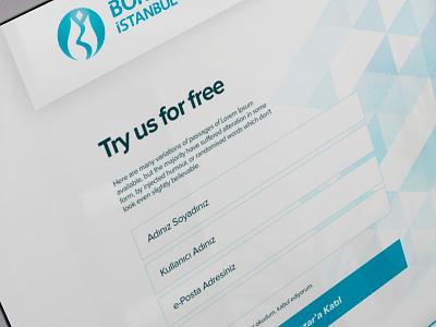 Sign Up Page ui ux blue best clean form signup signin web browser
