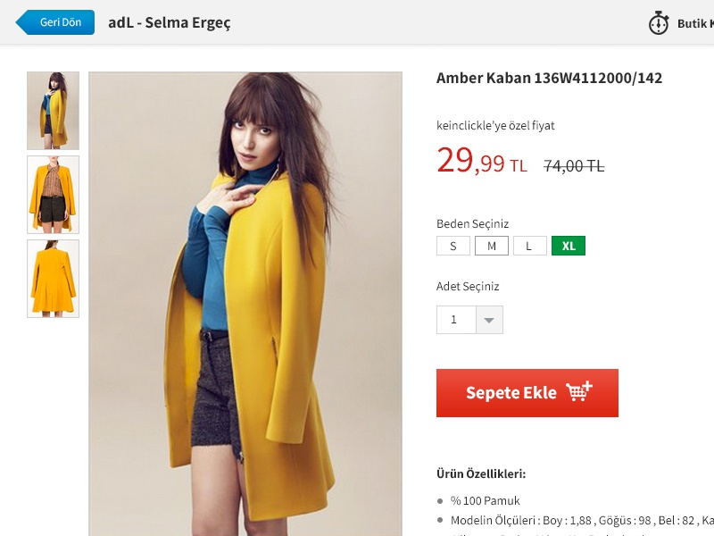 Product Details Page design ui ux clean web women shopping