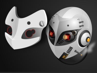 mask robot mask