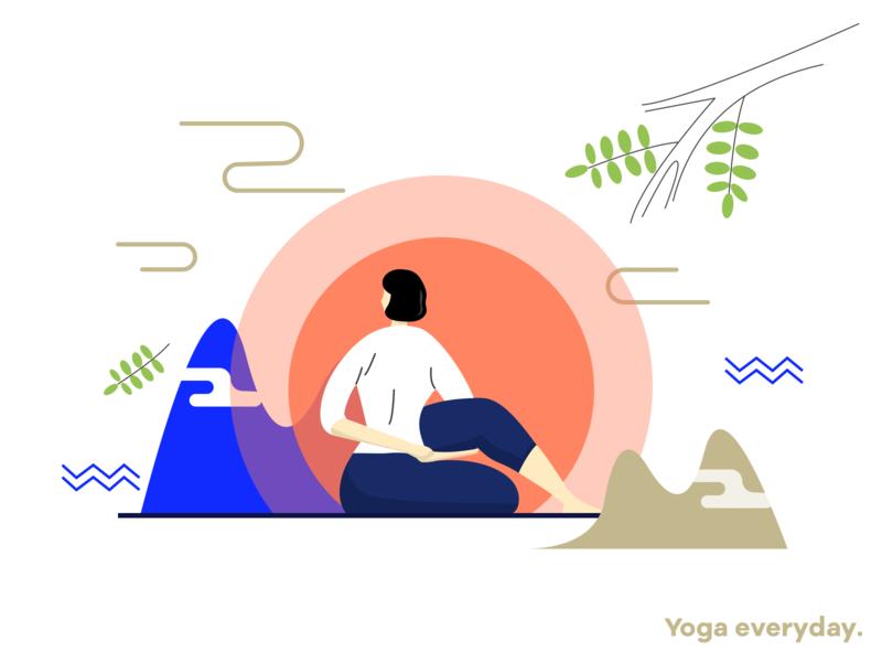 yoga02 illustration