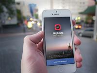 NightUp App Revamp - Login Screen