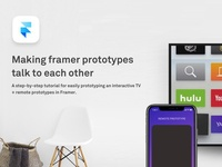 Framer Prototypes + Websockets