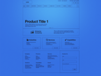 Home Page - Wireframe