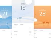 App - Weather UI