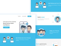 Landing Page - Find a Doctor