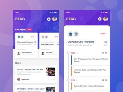 App - Live Report