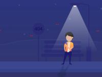 404 Exploration icons web feed landing ios design onboarding app illustration ui