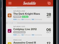 Socialite - Newsfeed
