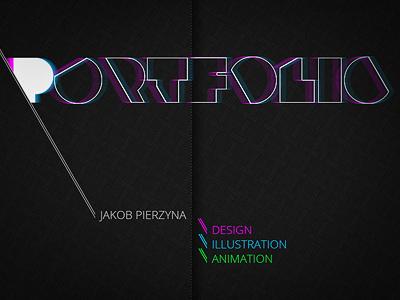 Portfolio Title design portfolio photoshop